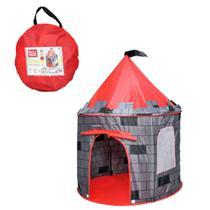 Barraca Infantil Dobrável Tenda Castelo Torre Cabana Toca - Dm toys
