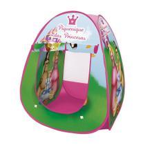 Barraca Infantil Dobrável Tenda Piquenique Princesas Cabana - Dmbrasil