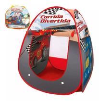Barraca Infantil Dobrável Toca Tenda Cabana Menino Corrida Divertida DM Toys DMT4691 -
