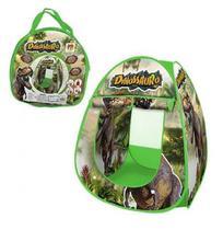 Barraca Infantil Dobrável Toca Tenda Cabana Menino Dinossauro DM Toys DMT5618 -