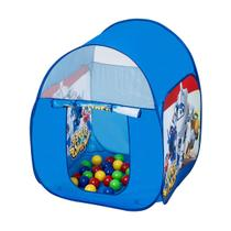 Barraca Infantil Fun Super Wings Com 25 Bolinhas Azul -
