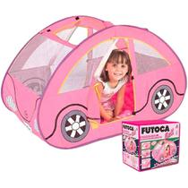 Barraca Infantil Futoca Rosa Com 150 Bolinhas + Brinde - Braskit