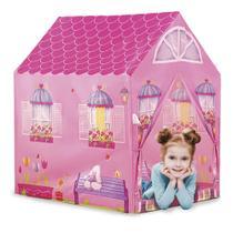 Barraca Infantil Juvenil Menina Tenda Casinha Fácil Montagem - Dm Toys