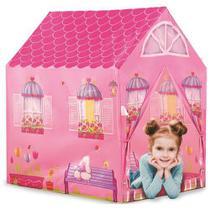 Barraca Infantil Meninas Minha Casinha Iglu Rosa 102 cm - Dm toys