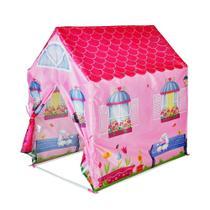 Barraca Infantil Meninas Tenda Minha Casinha Grande - Dm Toys