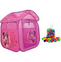 Barraca Infantil Minnie Com 50 Bolinhas Zippy Toys -