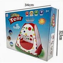 Barraca infantil portátil com tela respirável tenda iglu - Dony brinquedos