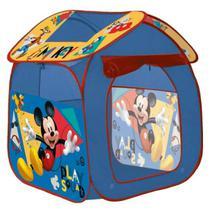Barraca Infantil Portátil Mickey Casinha Tenda Cabana Menino - Yupitoys