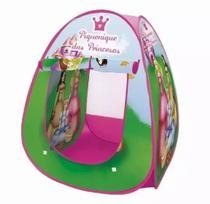 Barraca Infantil Portátil Piquenique Princesas Para Meninas Rosa - Dm Toys