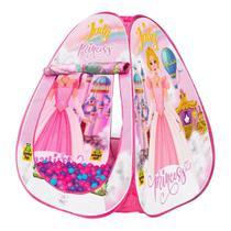 Barraca Infantil Princesa Judy C/ 50 Bolinhas Toquinha Tenda - Samba Toys