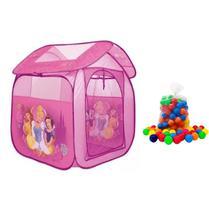Barraca Infantil Princesas Com 50 Bolinhas Zippy Toys -