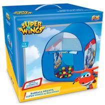 Barraca Infantil Super Wings Com 25 Bolinhas - Fun -