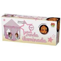 Barraca Infantil Tenda Iluminada Led DMT 5875 - Dm Toys - Dmtoys