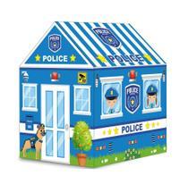Barraca Infantil Toca Menino Tenda Casinha Azul Policial Importway BW133P Policia -