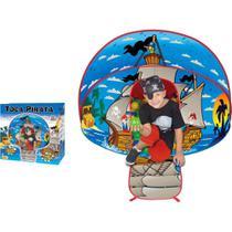 Barraca Infantil Toca Pirata com 100 bolinhas - Braskit -