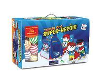 Barraca Infantil Turma Super Heróis Com 100 Bolinhas Grande - Pica Pau