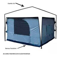 Barraca Ntk Para Gazebo Tenda Transform 5/6 Pessoas - Nautika