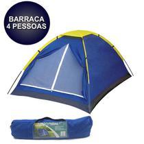 Barraca para 4 pessoas com bolsa transporte acampamento tenda grande caming praia 200x200x130CM  - Tssaper - TB004 -