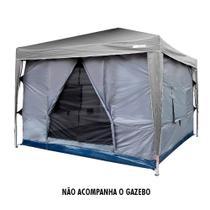Barraca Para Tenda Transform 5 6 Pessoas 3 X 3m Ntk  Com Coluna D Agua De 3000mm 159005 - Nautika