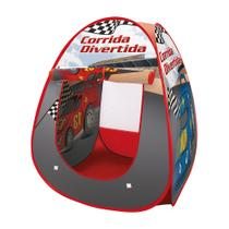 Barraca Portatil Cabana Corrida Divertida - Dm Toys