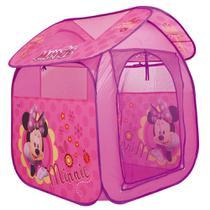 Barraca Portátil Cabana Infantil Casa Minnie - Zippy Toys- M -