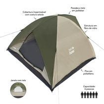 Barraca Premium 6 pessoas C 3 x L 3 x A 1,85 m Bel Lazer Cobertura Impermeável - Mor