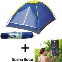 Barraca Profesional Camping Praia Pesca + Chuveiro 20 Litros Portátil Aguá Quente Solar - Ybx