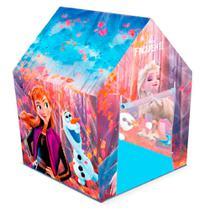 Barraca Toca Infantil Frozen Original Tenda 2503 Líder Brinquedos -