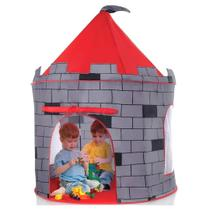 Barraca toca infantil  instantanea  meninos castelo torre grande - Dm Toys