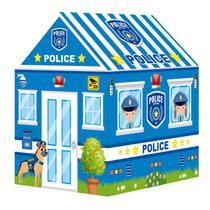 Barraca Toca Infantil Portátil Cabana Casinha Tenda Casa Policia - Importway