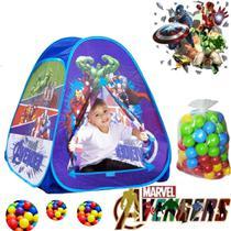 Barraca Toca Infantil Vingadores Avengers Piscina De Bolinha - Marvel