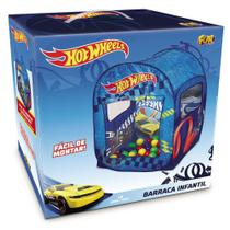 Barraca Toca Piscina Bolinhas Hot Wheels Looping - Fun