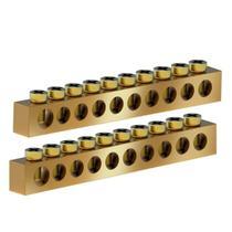 Barramento Neutro/Terra 10 Disjuntores com 2 Unidades Tigre -