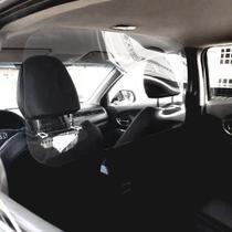 Barreira Escudo De Proteção Antiviral Para Carros - 107x50cm - Acrilzano Acrílico