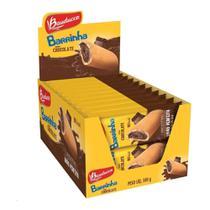 Barrinha chocolate 25g c/ 20 unidades - bauducco -