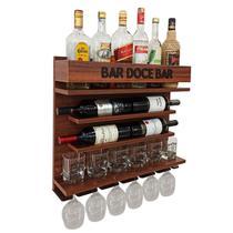 Barzinho Adega Parede - Bar Doce Bar - 60 x 51 Imbuia - Co2Beer