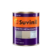 Base Acrílico Efeito Metalizado 800ml Transparente - compre e escolha sua cor - Suvinil