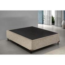 Base Box Casal - Suede Bege 40x138x188 - Ortobello