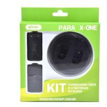 Base Carregador 2 Baterias Para Controle Xbox One - Kanup