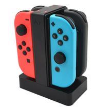 Base Carregador para Joy-con Nintendo Switch 4 in 1 - Knup