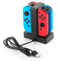 Base Carregador Para Joy-con Nintendo Switch Até 4 Joy-con Knup -