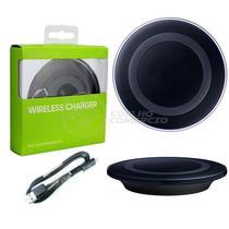 Base Carregador Wireless QI de Mesa Carregador Sem Fio - Preto - Smart Bracelet