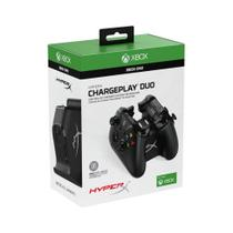 Base Carregadora C/ 2 Bateria Xbox One Chargeplay Duo Hyperx -