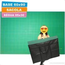 Base Corte A1 90x60cm Regua Laser 05x30 Patchwork Scrapbook - Lanmax