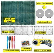 Base Corte A2 60x45 Regua 15x60 + 15x30 + Cortador 45mm Top - Levolpe