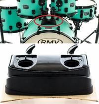 Base de Bumbo para Tons RMV PAC20 para colocar holders e tons sobre o bumbo - Rmv Drums