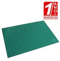Base De Corte A2 60x45cm Dupla Face Patchwork - Resistente - Redshock