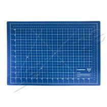 Base De Corte A3 45x30 Patchwork Scrapbook Azul - Levolpe