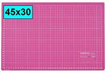 Base De Corte Rosa A3 45x30 Patchwork Scrapbook Artesanato - Levolpe