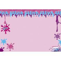 Base de Slime Impermeável  Rosa - BBS-001 - Litoarte